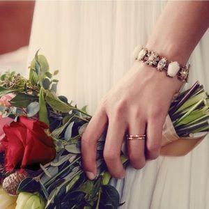 Gardenia Toggle Bracelet